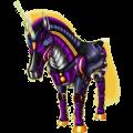 Unicorn Arabian Horse Roan
