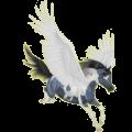 Pegasus Paint Horse Black Tobiano