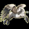 Pegasus Paint Horse Chestnut Tobiano