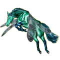 Pegasus Paint Horse Liver chestnut Tobiano